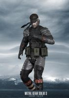 MGS3 Naked Snake by GeorgeSears1972
