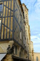 Old town of La Rochelle by betteporter