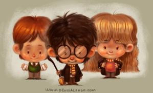 Harry Potter by denisalonso