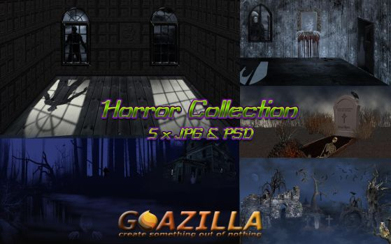 horror collection by goazilla