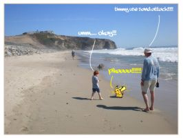 Wild Pikachu Spotted.... by abzde
