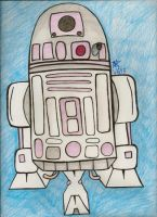 Pink R2D2 by AquaNature10