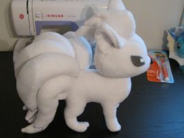 Ninetales plush test by SabakuNoYoukai