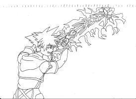 Sora - Ultima Weapon by ThiagoParker