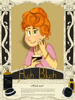 Hush Blush Advertisment by HaileyMorrisonBooks