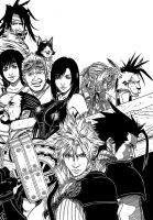 Final Fantasy 7 by kakarouto