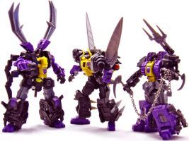 Fansproject Insecticons by Weirdwolf75