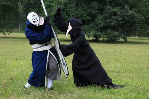 Tobi vs Plague doctor - Clash by IkasuTaiki