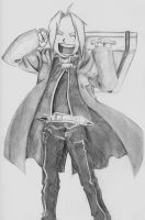 Edward Elric by Grell--chan