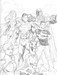 03072013 Superman Family by guinnessyde