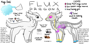 Flux Dragons | Species Ref and Info by coldioc