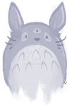 Totoro by ultimate-hedgehog