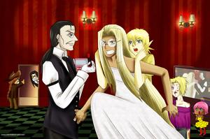 Hellsing Wedding: part1 before the wedding by Emocorita