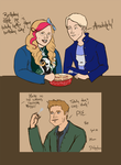 Draco and Rotae's Birthday Apple Pie! by Rotae