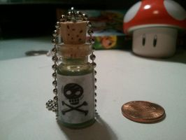 Bottle of Poison Necklace by MaddieLea