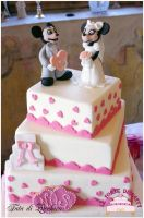 Miky Mouse wedding topper by Dyda81