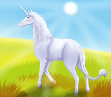 Heroes of Might and Magic 3: usual unicorn by Suomen-Ukonilma