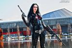 The Baroness with Megatron - cosplay by Daelyth