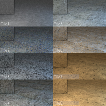Free Stone, Concrete and Other Tile Textures by deathhunt