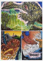 2012 Kaiju Kards Set 3 by fbwash