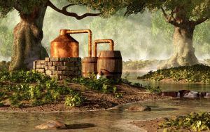 Moonshine Still 1 by deskridge