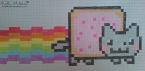 nyan cat :3 by MeTaLGiNGeR