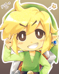 .: Little Link Smile :. by PepperMoonFlakes
