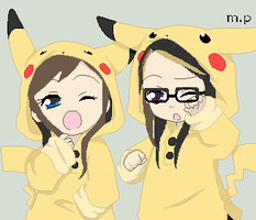 Having a Pikachu Morning by lingpak