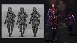 Female Soldier by WhiteLeyth