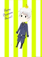 Happy Belated Birthday Prussia! by xbubblegumprincess