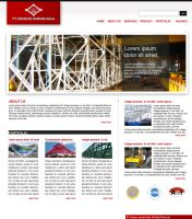 Bangun Sarana Baja website by champchoel