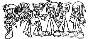 TEAM G With Sky echidna l-work by GreenBlood12354