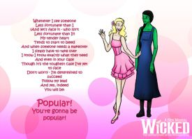 Wicked-Popular by alifsu17