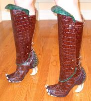 Tenel Ka Djo boots by RebelAllianceBarbie