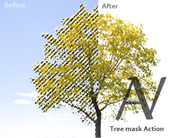 Tree Mask Action by AnthonyVyner
