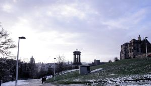 Calton Hill by Beachrockz4eva