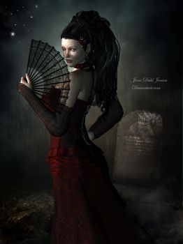 Gothic widow by janedj