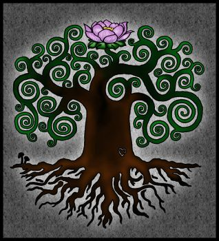 Tattoo Design - Tree of Life by 31337157