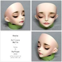 Routa faceup 01 by Puffsan