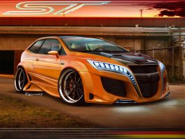 Ford Focus ST by BarneyHH