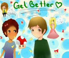 Get Better Michael~~ by jackiekawaii