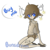 Starry Dear Boy Adopt .:SOLD:. by BunsDream