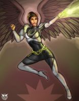 Nike IX--colored sketch by Battlewraith