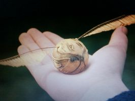 The Golden Snitch 2 by Harry-Potter-Addict