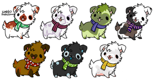 PUPPY POINT ADOPTS :CLOSED: by SchneckenBeckons