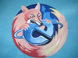 Firefox eats Internet Explorer? by cmoyl