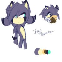 New Fc : Ibes the hedgehog by Singhter