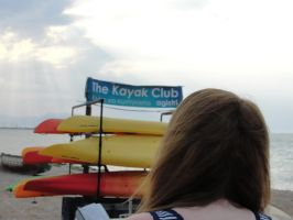 Heading to the Kayak Club by Sc1r0n