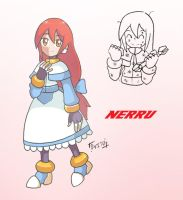 MMZX OC: Nerru by Shoutaro-Saito