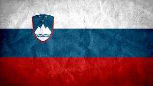 Slovenia Grunge Flag by SyNDiKaTa-NP